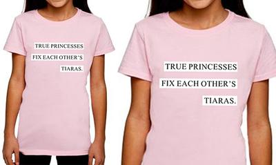 DA18-True Princess Kids Shirt